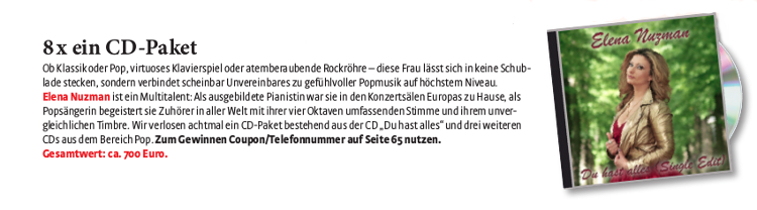 Elena Nuzman - Frau im Spiegel - Februar  2021