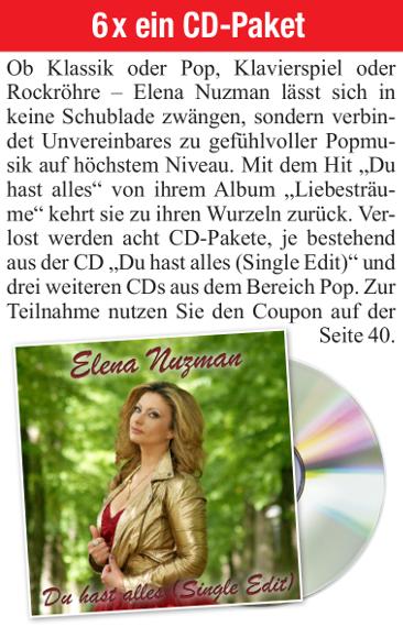 Elena Nuzman - Frau aktuell - February  2021