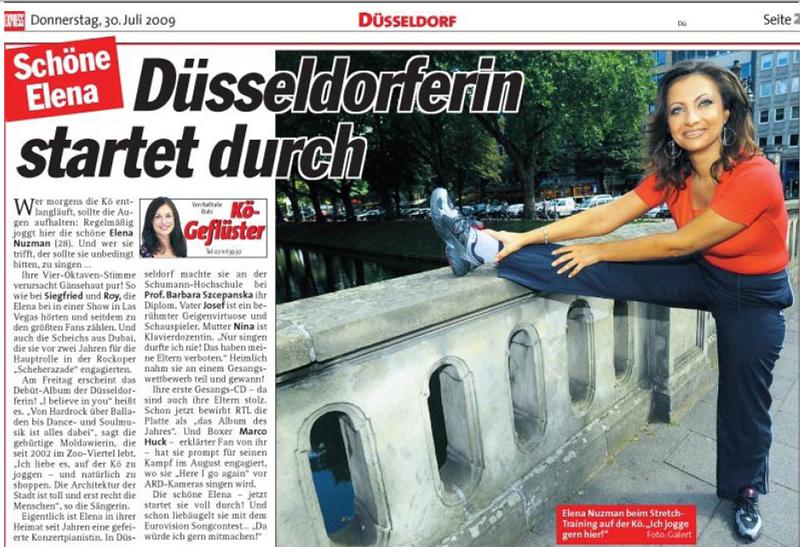 Elena Nuzman - EXPRESS - July 2009
