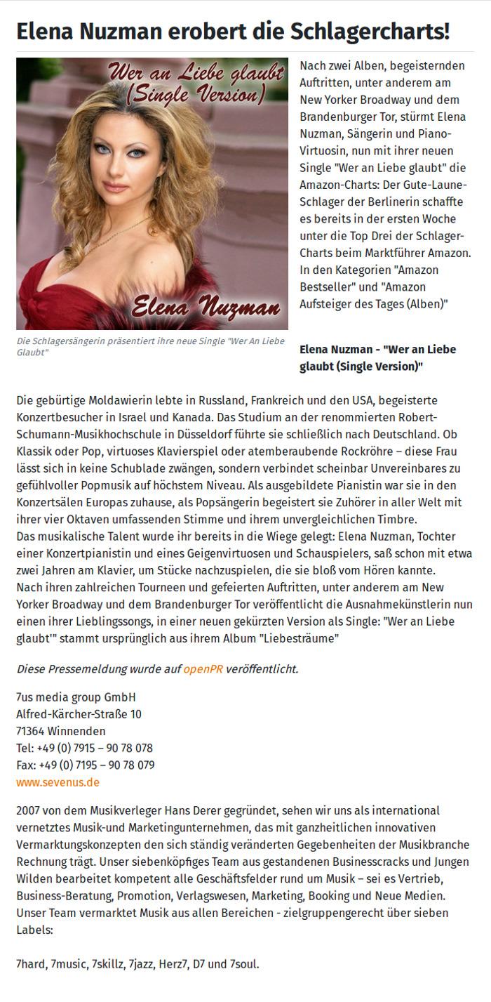 Elena Nuzman - www.openpr.de - Dezember  2020
