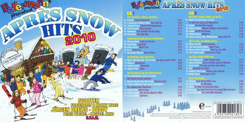 Elena Nuzman - Snow Hits - Compilation 2009