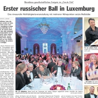 Elena Nuzman - Luxemburger Wort - January 2012