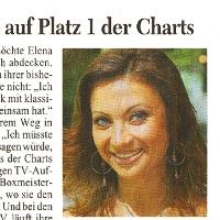 Elena Nuzman - Kölner Stadt-Anzeiger - July 2009