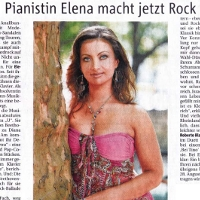 Elena Nuzman - Rheinische Post - July 2009