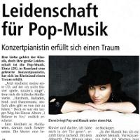 Elena Nuzman - Wochenend Magazin - October 2009